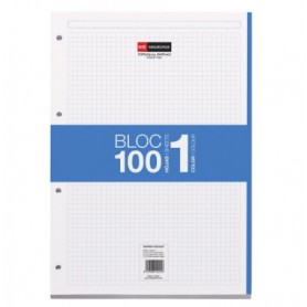 RECAMBIO BLOC MR NOTEBOOK A4 5x5 (100H.)
