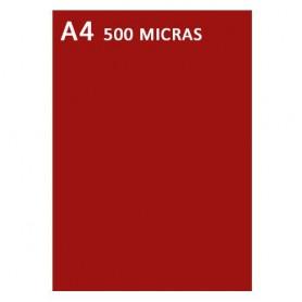 TAPA ENCUADERNAR A4 PP. 500MIC. (100U.) FELLOWES