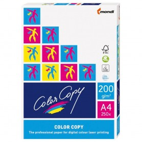 PAPEL COLOR COPY DIN A4 200GR. (250H.)