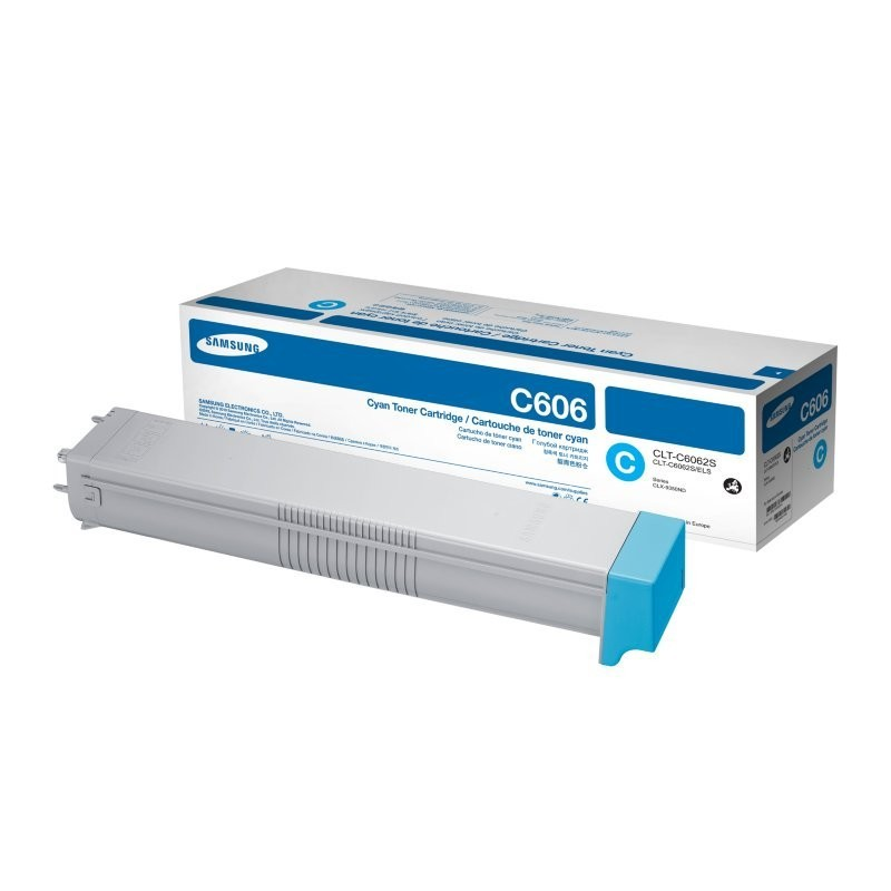 TONER LASER SAMSUNG C606 (20000P.) CLT-C6062S/ELS CIAN
