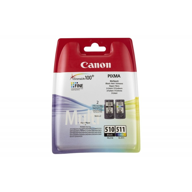 INK-JET CANON PG510/CL511 NG/TRI 2970B010
