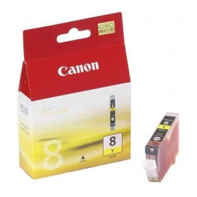 INK-JET CANON CLI-8Y AMARILLO 0623B001