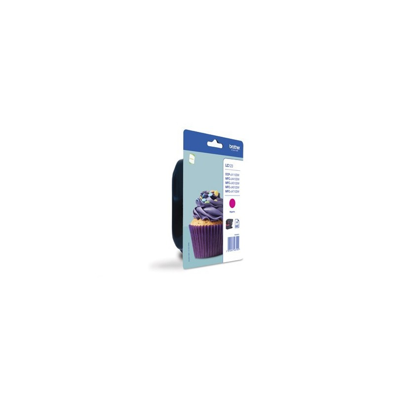 INK-JET BROTHER LC123M (600P.) MAGENTA