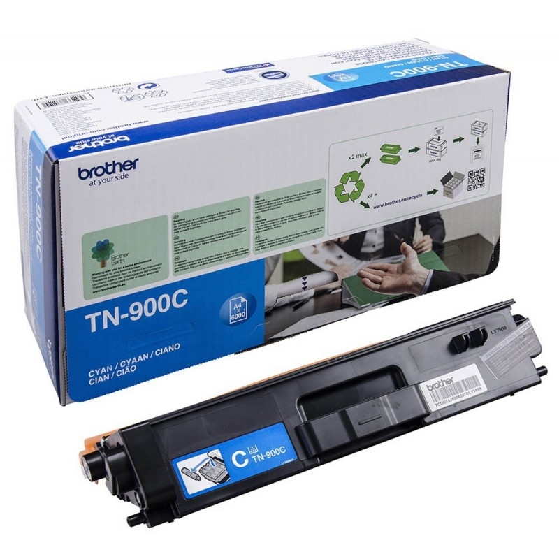 TONER LASER BROTHER TN900C (6000P.) CIAN