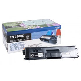 TONER LASER BROTHER TN320BK (2500P.) NEGRO