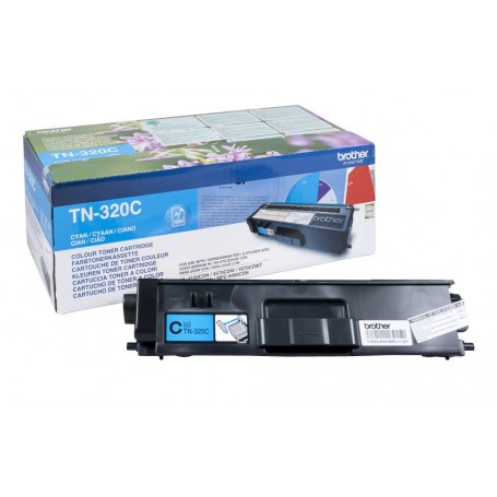 TONER LASER BROTHER TN320C (1500P.) CIAN