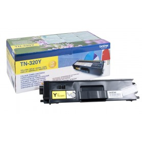 TONER LASER BROTHER TN320Y (1500P.) AMARILLO