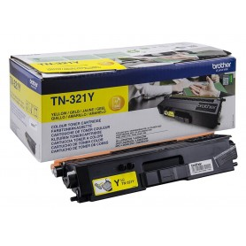 TONER LASER BROTHER TN321Y (1500P.) AMARILLO