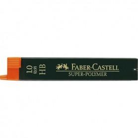 MINAS FABER CASTELL 0.9MM. HB (12U.)