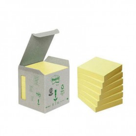 BLOC POST-IT  76X76 TORRE (6U.) LINEA VERDE