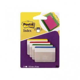 POST-IT INDEX 38x51 PLANOS (24U.) AZ-AM-VE-RO
