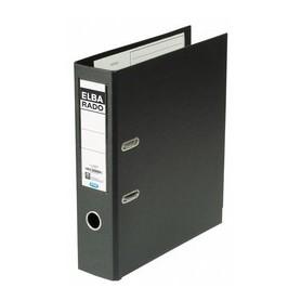 ARCHIVADOR PVC ELBA RADO PLAST A4 80MM. NEGRO
