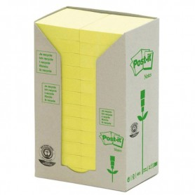 BLOC POST-IT  38x51 LINEA VERDE TORRE 24U. AMARILLO
