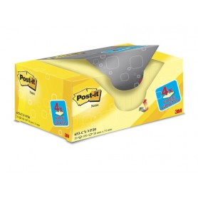 BLOC POST-IT  38x51 AMARILLO (16+4U.) PACK AHORRO