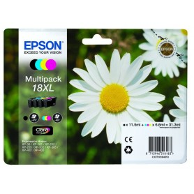 INK-JET EPSON 18XL  PACK 4 COLORES N/A/M/C C13T18164010
