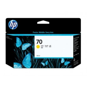 INK-JET HP  70 (130ML.) AMARILLO C9454A