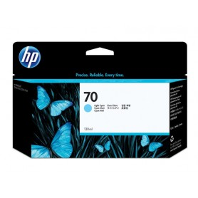 INK-JET HP  70 (130ML.) CIAN CLARO C9390A