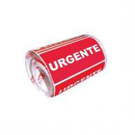"""ETIQUETAS ROLLO  50X100 MM. """"URGENTE"""" (200U.)"""