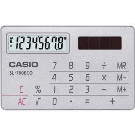 CALCULADORA BOLSILLO CASIO SL-760ECO 8 DIGITOS