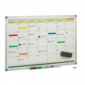 PLANNING MENSUAL MAGNETICO 600x900 MM. FAIBO