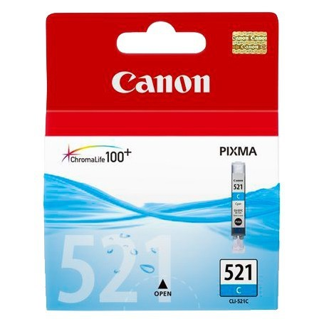 INK-JET CANON 521 (9ML.) CLI-521C CIAN