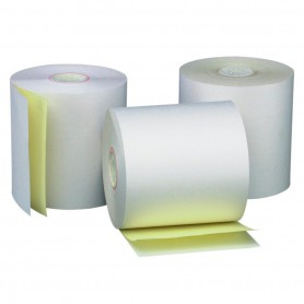 ROLLO PAPEL QUIMICO 57x65 MM. 25 MTS. FABRISA
