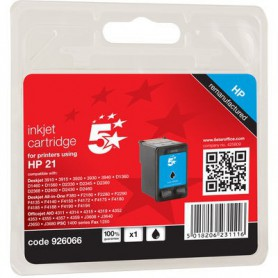 INK-JET COMPATIBLE OP HP  21 NEGRO C9351A