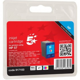 INK-JET COMPATIBLE HP TRICOLOR C6657A