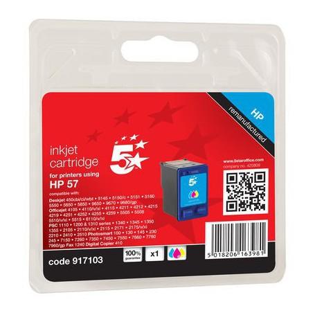 INK-JET COMPATIBLE HP TRICOLOR C6657A
