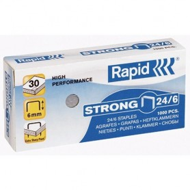 GRAPAS 22/6-24/6 GALVANIZADAS STRONG (1000U.) RAPID
