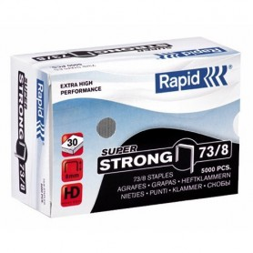 GRAPAS RAPID HD31 73/8 GALVANIZADA STRONG (5000U.)