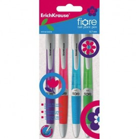 ROLLER GEL RETRACTIL ERK FIORE (PACK 4U.)