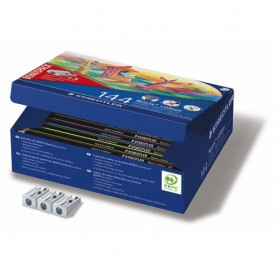 LAPICES DE COLORES STAEDTLER NORIS (12x12U.) CLASS PACK