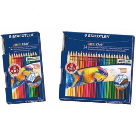 LAPICES DE COLORES STAEDTLER NORIS (12U.) ACUARELABLE