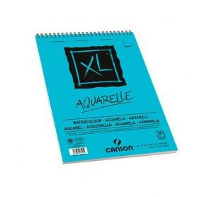 BLOC DIBUJO Microperforado 21x29,7 30H Canson XL Aquarelle Grano Fino 300g