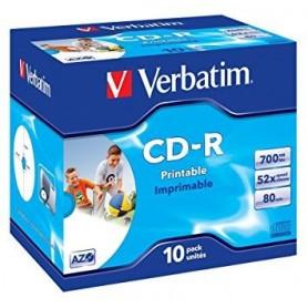 CD-R 700Mb 52x IMPRIMIBLE (10U.)