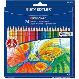 LAPICES DE COLORES STAEDTLER NORIS (24U.) ACUARELABLE