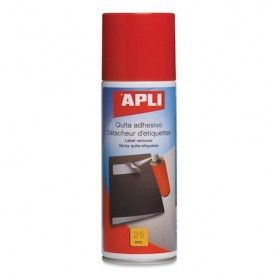 SPRAY LIMPIADOR QUITA ADHESIVO APLI 200ML.