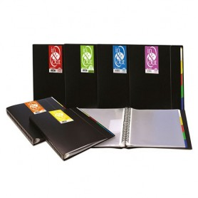 CARPETA  20 FUNDAS A4 EXTRAIBLES IN&OUT NEGRO