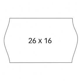 ETIQUETAS APLI 26x16 BLANCO PERMANENTE (6x1000U.)