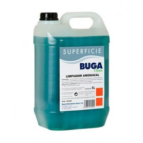 LIMPIADOR GENERAL BUGA CLEAN AMONIACAL 5L.