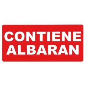 ETIQUETAS ROLLO 50X100 MM CONTIENE ALBARAN (200U.)