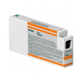 INK-JET EPSON  T596A (350ML.) C13T596A00 NARANJA