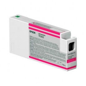 INK-JET EPSON  T6363 (700ML.) C13T636300 MAGENTA VIVO