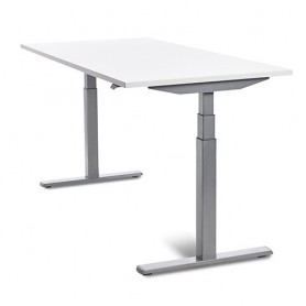 MESA REGULABLE ROCADA E-TABLE 160X80 CMS. GRIS