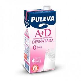 LECHE DESNATADA PULEVA BRIK DE 1 LITRO
