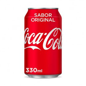 REFRESCO COCA-COLA LATA 330 ML.