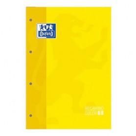 RECAMBIO BLOC OXFORD A4 5x5 (80H.) AMARILLO