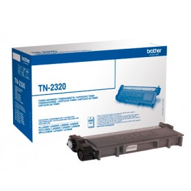 TONER LASER BROTHER TN2320 (2600P.) NEGRO