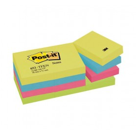 BLOC POST-IT  38x51 GAMA ENERGIA (12U.) SURTIDO